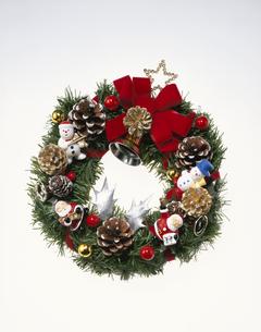 クリスマスリースの写真素材 [FYI03840432]