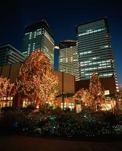 トリトンスクエアのイルミネーション   東京都の写真素材 [FYI03840504]