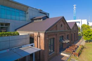 ドナルド・キーンコレクションがある赤レンガの北区中央図書館の写真素材 [FYI03841474]