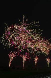 古河花火大会 祭り太鼓の写真素材 [FYI03842035]