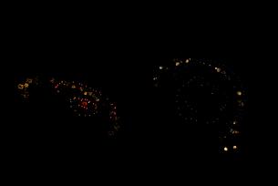 常総きぬ川花火大会 イメージ花火 夜空のアラカルト アフロガール・アフロボーイの写真素材 [FYI03842091]