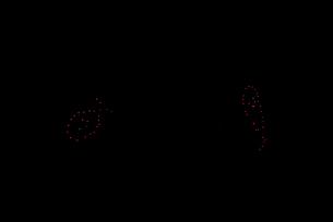 常総きぬ川花火大会 イメージ花火 夜空のアラカルト さかなの写真素材 [FYI03842159]