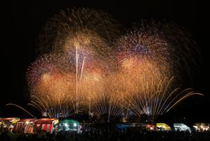 土浦全国花火競技大会 大会提供 土浦花火づくしの写真素材 [FYI03842358]