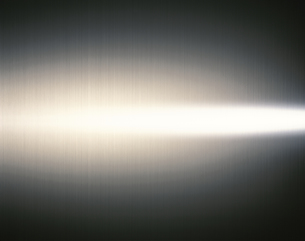 ステンレスの板の上の光線の写真素材 [FYI03842707]