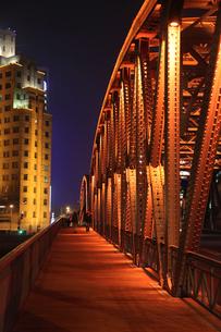 上海夜景の写真素材 [FYI03842791]
