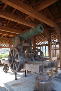 手引ケ浦台場公園 洋式大砲の写真素材 [FYI03842801]