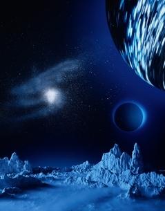 宇宙のイメージの写真素材 [FYI03843192]