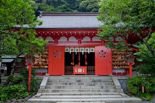 合格祈願の荏柄天神社の写真素材 [FYI03843666]