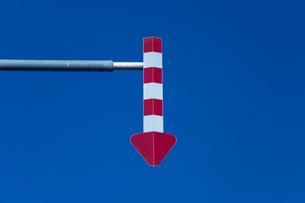 路肩標識の写真素材 [FYI03843828]