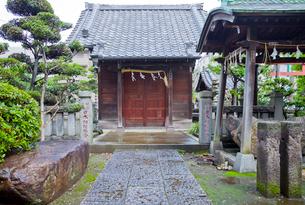 相撲の神を祀る野見宿禰神社の写真素材 [FYI03844183]