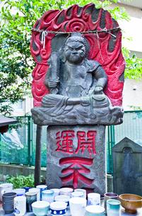 三峰神社のけさずか耳無不動の写真素材 [FYI03844205]