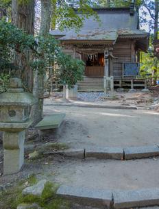 平泉中尊寺の薬師堂の写真素材 [FYI03844432]