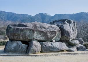 明日香村の石舞台古墳の写真素材 [FYI03844473]