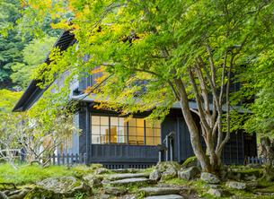 中禅寺湖畔の英国大使館別荘の写真素材 [FYI03844771]