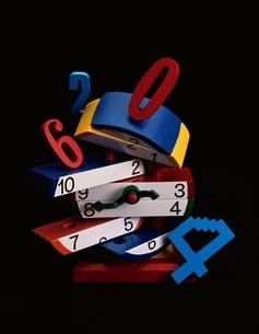 おもちゃの時計の写真素材 [FYI03844884]