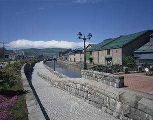 小樽運河   北海道の写真素材 [FYI03844904]