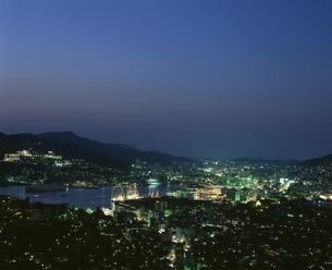 帆船まつり夜景   長崎市 長崎県の写真素材 [FYI03844920]