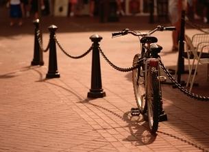 自転車のある街角 バンクーバー カナダの写真素材 [FYI03845141]