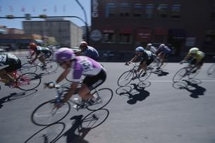 自転車レース カルガリーの写真素材 [FYI03845150]