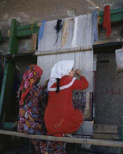 エジプト織物の工場 エジプトの写真素材 [FYI03845321]