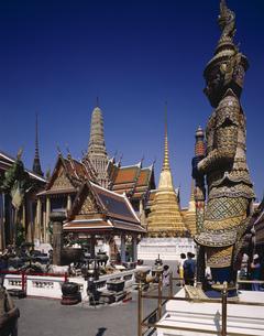 ワット・プラケオバンコク  タイの写真素材 [FYI03845323]