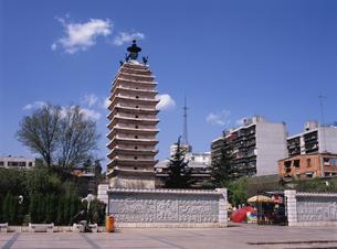 西寺塔の写真素材 [FYI03845544]