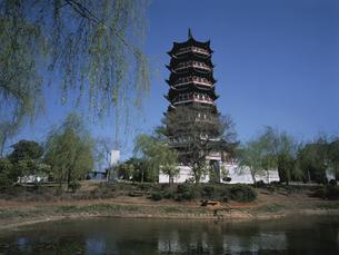 雲華寺の瑞応塔の写真素材 [FYI03845546]