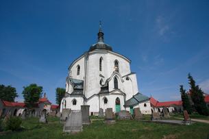 ネポムークの聖ヨハネ巡礼教会の写真素材 [FYI03845766]