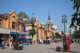 旧ロシア人街の写真素材 [FYI03845810]