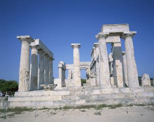 アフェア神殿 エギナ島 ギリシャの写真素材 [FYI03846445]
