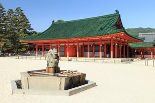 平安神宮  神楽殿の写真素材 [FYI03846653]