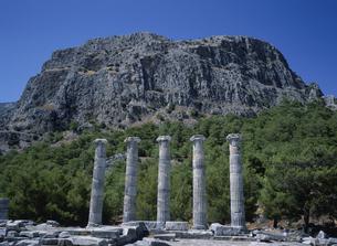 プリエネの遺跡 クシャダス郊外 トルコの写真素材 [FYI03847720]