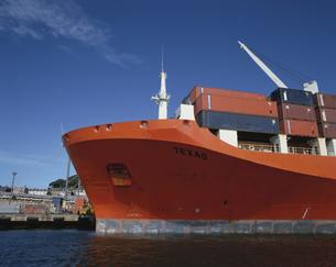 コンテナ船 シドニー オーストラリアの写真素材 [FYI03847786]