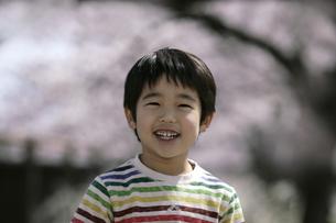 笑顔の男の子の写真素材 [FYI03848136]