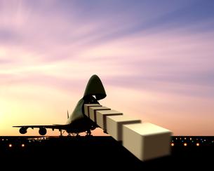貨物機イメージのイラスト素材 [FYI03848167]