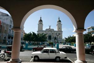 サンチャゴ・デ・クーバの歴史博物館の写真素材 [FYI03848183]