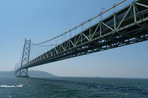 明石海峡大橋の写真素材 [FYI03848436]