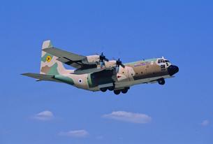 イスラエル空軍ロッキードC130ハーキュリーズ輸送機の写真素材 [FYI03848898]