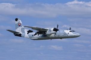 スロバキア空軍アントノフAn26輸送機の写真素材 [FYI03848902]