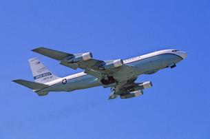 アメリカ空軍C135輸送機の写真素材 [FYI03848905]