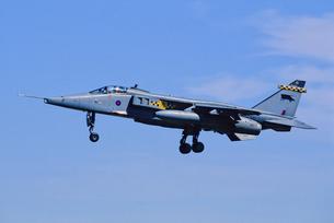 イギリス空軍SEPECATジャギュア攻撃機の写真素材 [FYI03848927]