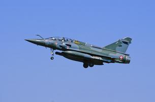 フランス空軍ミラージュ2000戦闘機の写真素材 [FYI03848940]