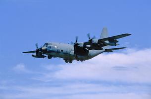 アメリカ空軍ロッキードC130ハーキュリーズの写真素材 [FYI03848942]