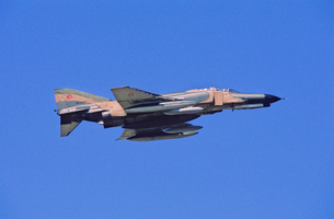 トルコ空軍F4ファントム戦闘機の写真素材 [FYI03848959]