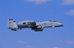 アメリカ空軍A10サンダーボルト攻撃機の写真素材 [FYI03848965]