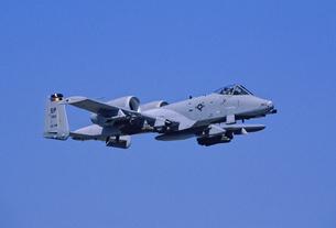 アメリカ空軍A10サンダーボルト攻撃機の写真素材 [FYI03848966]