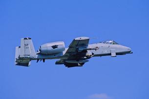 アメリカ空軍A10サンダーボルト攻撃機の写真素材 [FYI03848967]