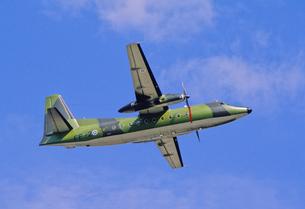 フィンランド空軍フォッカーF 27の写真素材 [FYI03848978]