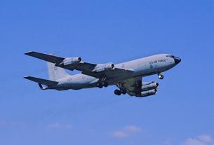 アメリカ空軍ボーイングKC135空中給油機の写真素材 [FYI03848992]
