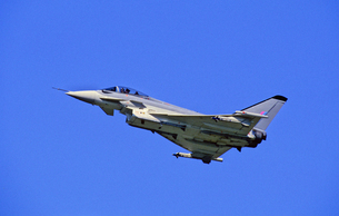 ユーロファイター・タイフーン戦闘機の写真素材 [FYI03849011]